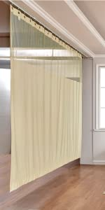 nickel grommet hospital curtain