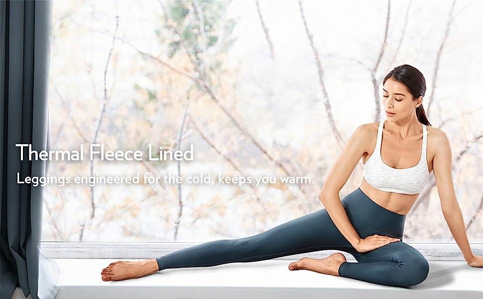 Thermal Fleece Lined leggins