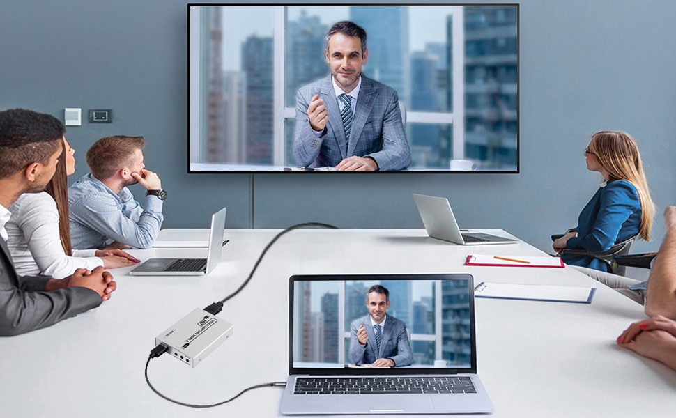 Video capture card to support video chat and web conferencing / classroom