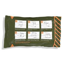 Bandage packaging - back side