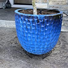 steel plant stand for flower pot heavy duty potted holder indoor outdoor