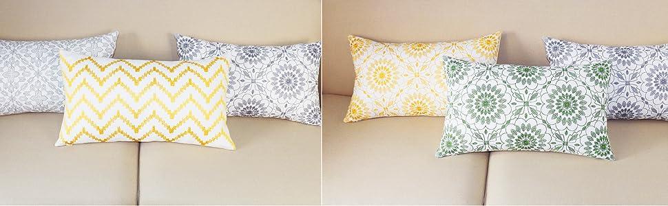 lumbar pillow covers