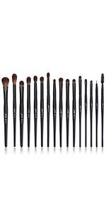 black eye makeup brushes