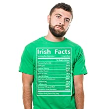 St Patrick's day Holiday Beer Mens Funny Shirt Irish Heritage Saint Paddys tee shirt