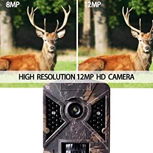 Lens pixel: 12MP 1080P