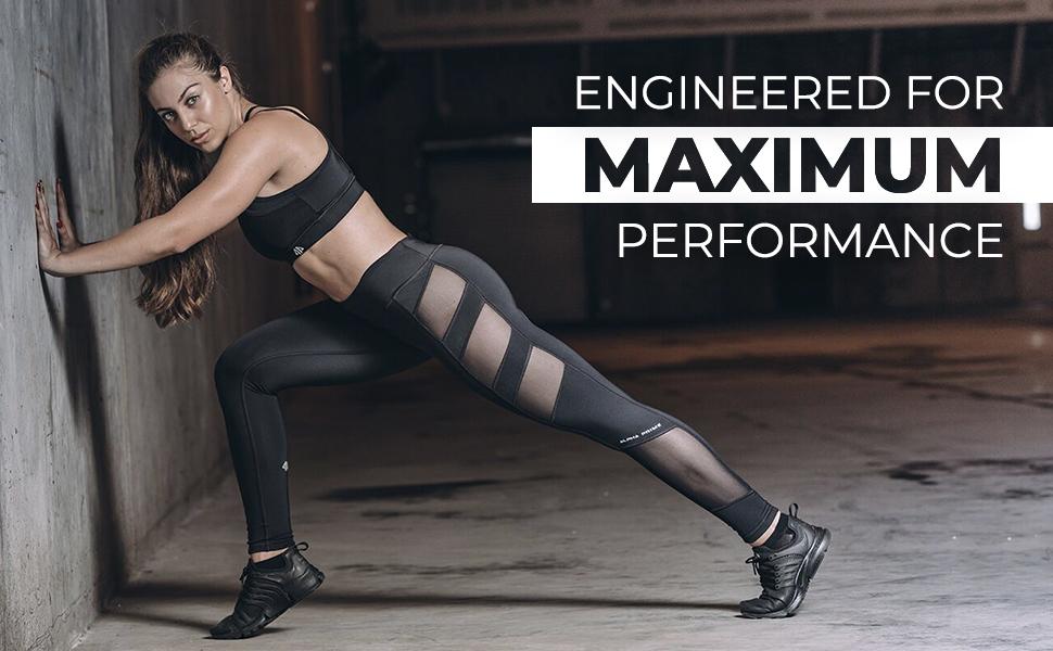 maximum performance athletic apparel