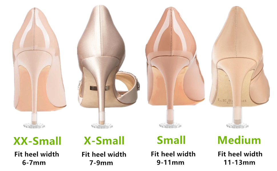 Great fit for different heel width