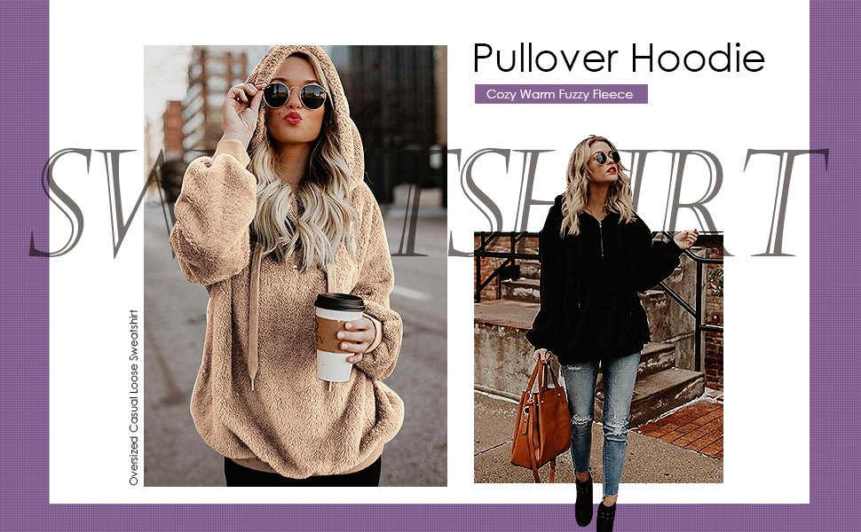 casual pullover sweatshirt hooded