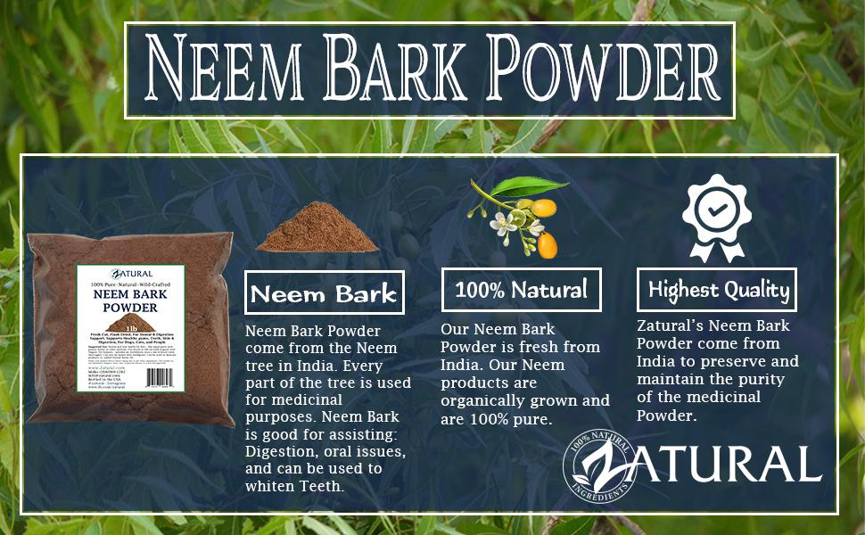 Neem Bark tooth powder gums