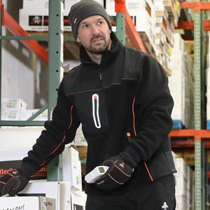 PolarForce Hybrid Fleece Insulated Jacket Durability