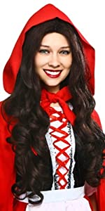 red riding hood, wig