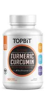 topbit turmeric curcumin, bioperine, capsules, supplements, anti inflammatory