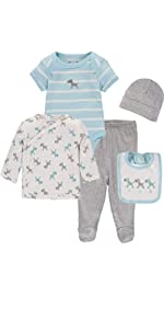 5-Pack Layette Set