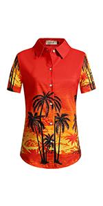 Women's Coconut Tree Shirt