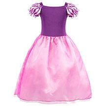 little girls dresses ruffle HG018-3