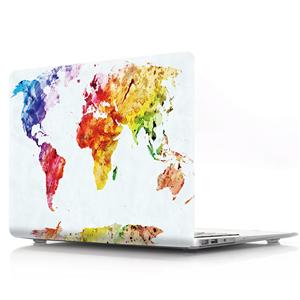 Watercolor map proctive case