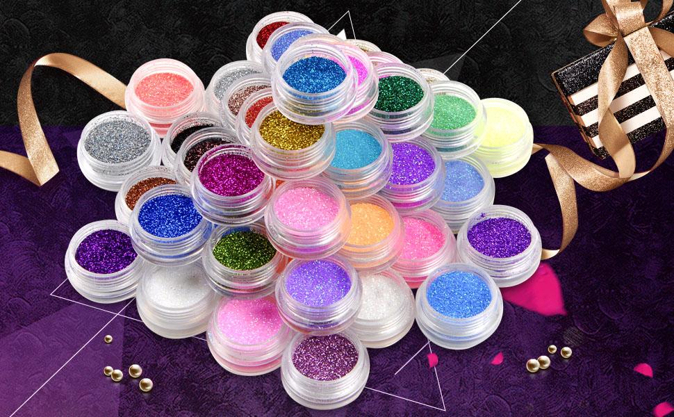 Glitter Dust Powder Set