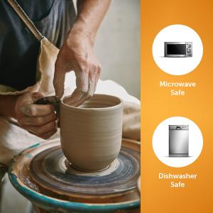 ceramic 14oz handle tea cocoa hot mug