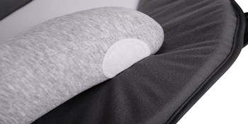 The U shape mattress can paste on the bottom mattress