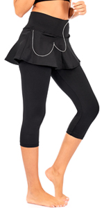 skirted Leggings with pockets