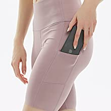 workout shorts with pocket snug biker running tights