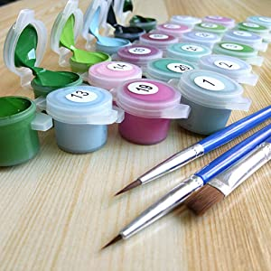 diy paint by numbers for adults