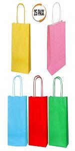 25 PCS Kraft Paper Gift Bag