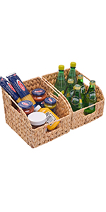 StorageWorks Wicker Baskets