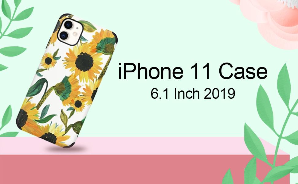 Custype iPhone 11 case for women