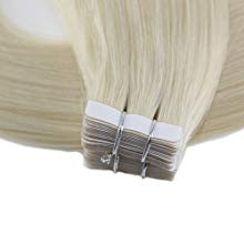 tape on real human hair extensions