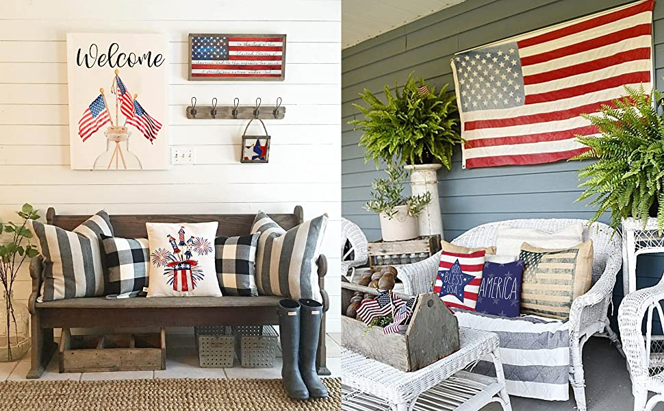 Have Fun with Your 4th of July Decor Projects !