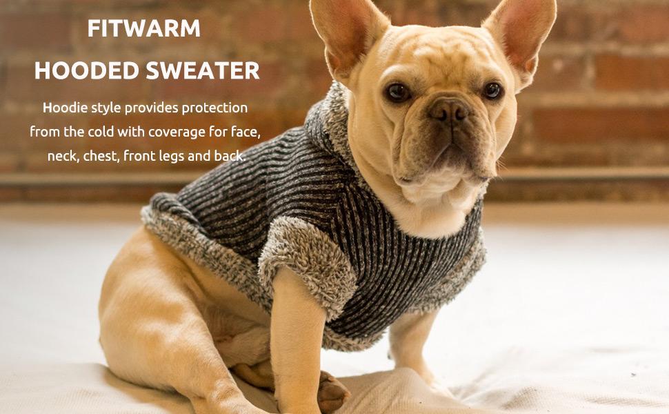 fleece dog sweater  medium dog sweater  dog holiday sweater  dog sweater large