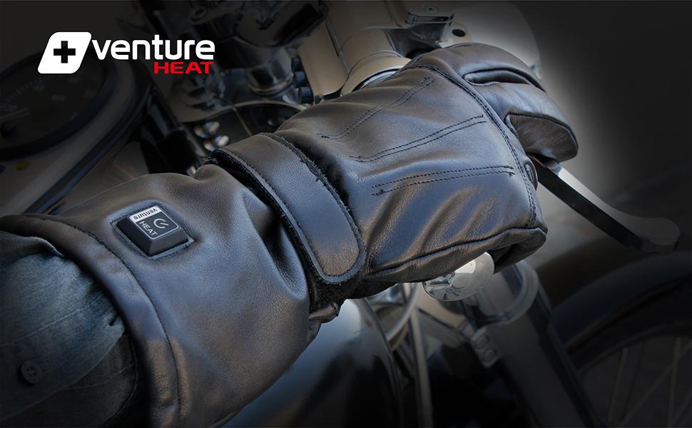 venture heat gloves motorcycle bike mc1645