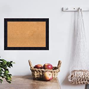 framed wood cork boards