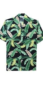 Banana Leaf Hawaiian Shirt
