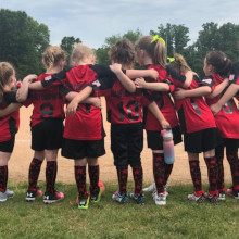Team Huddle Youth Soccer Socks