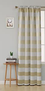 blackout curtains silver print grommet 84 inches inch length panels window drapes