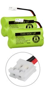iMah Ryme B2-3 BT18433/BT28433 2.4V 500mAh Battery Pack