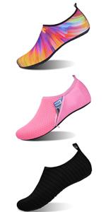 womens mens kids water shoes barefoot beach skin shoes non-slip aqua shes