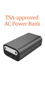ac outlet power bank laptop