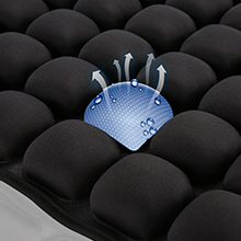 breathable air seat cushion