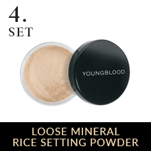 rice loose face powder setting foundation spray translucent for oily skin baking matte cruelty free