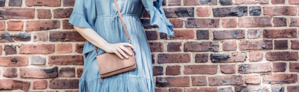 crossbody wallets for women purse rfid crossbody small purse travel purse rfid ladies on a string