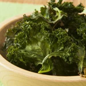 OMG Oils Basil Garlic Parmesan Kale Chips
