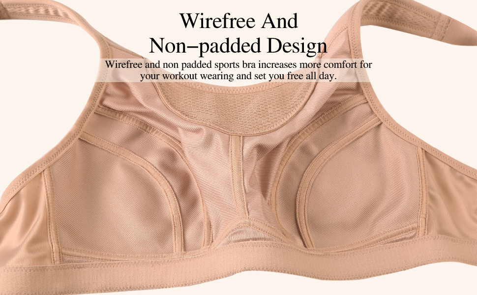 wirefree non-padded wireless