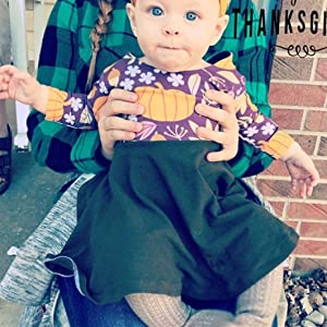 Baby Girl Thanksgiving Dresses
