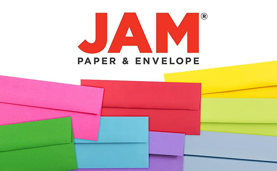 jam paper #10 business colored envelopes