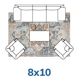 Well Woven Tivoli Collection 8x10 8x11 rugs.