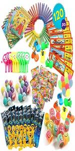 120 Pcs Party Toy Assortment Bundle