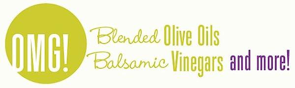 OMG Oils balsamic vinegars blended oilve oils